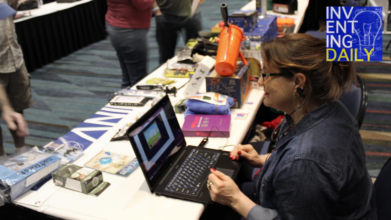 Biofeedback Stone at Inventors Show