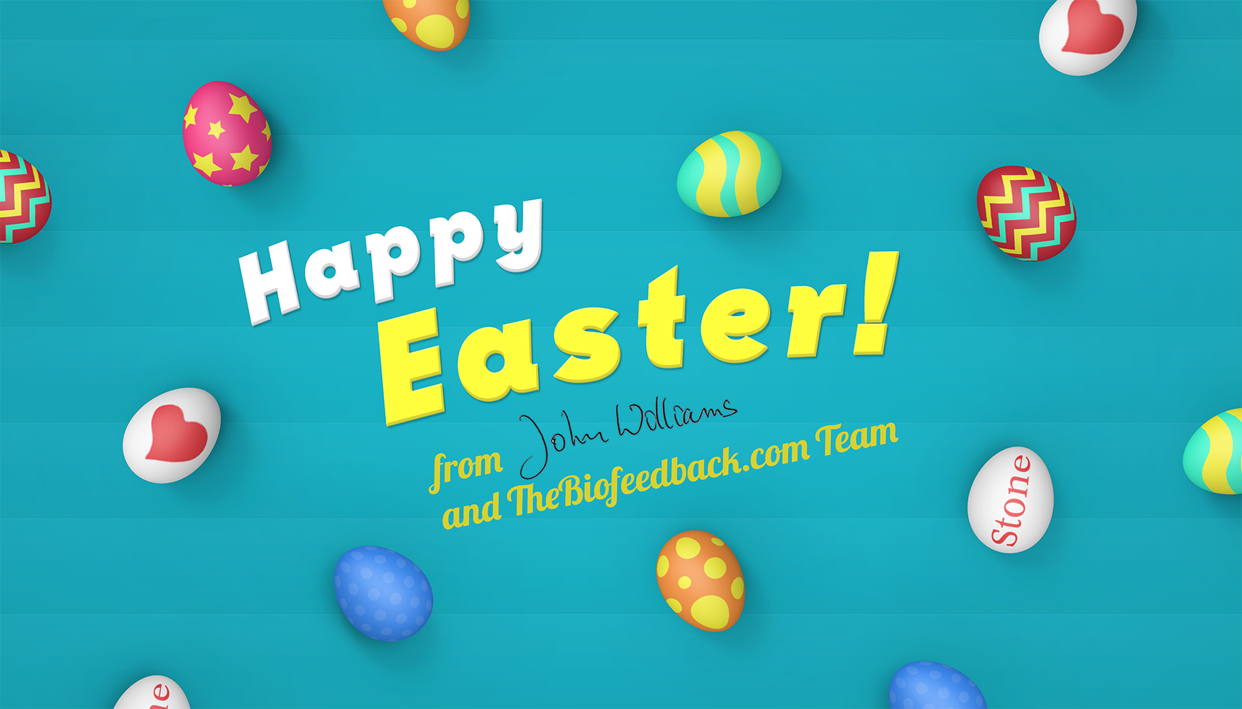 Happy Easter from TheBiofeedback.com!