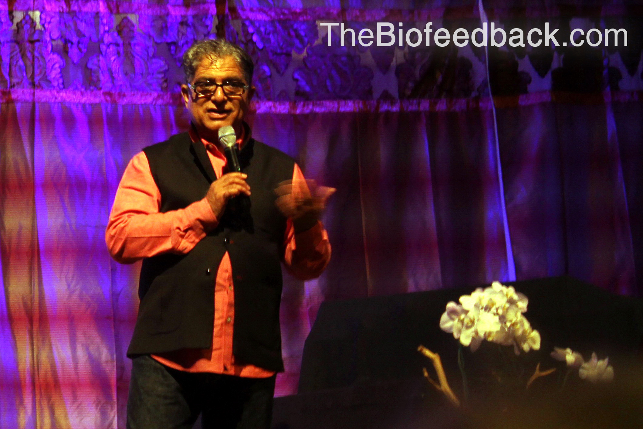 Deepak Chopra Talking About Biofeedback and Meditation